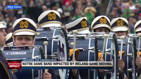 Notre Dame band member hopes for future Ireland trip